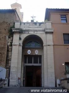 biserici roma Basilica Santi Cosma şi Damiano