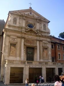 biserici roma Biserica San Giuseppe dei Falegnami