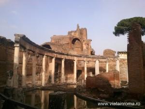 villa adriana teatro marittimo