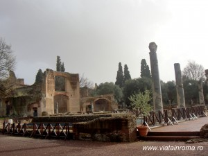 villa adriana tre esedre