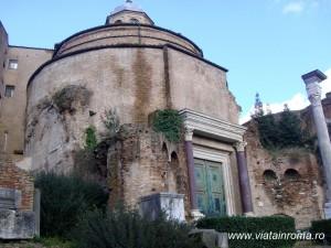 templul lui romulus forul roman
