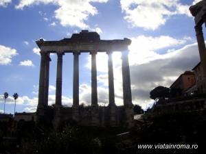 templul lui saturn