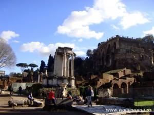templul vestei forul roman